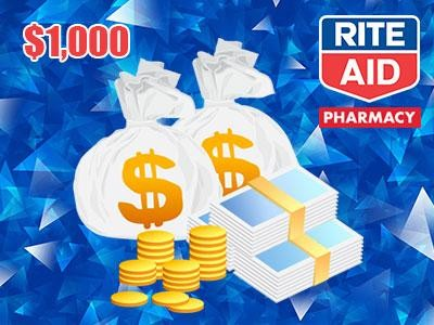 "Up To $1,000 Rite Aid ""Voice Of The Customer"" Sweepstakes Cash Prizes Up For Grabs"