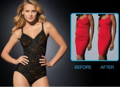 40% Off Bali Women's Shapewear Lace 'N Smooth Body Briefer