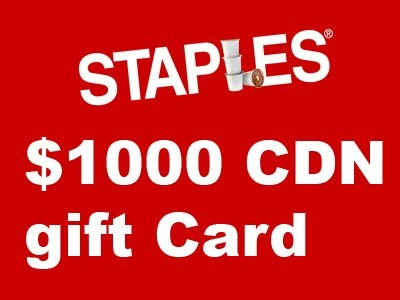 bureau en gros customer satisfaction survey 1 000 staples gift card. Black Bedroom Furniture Sets. Home Design Ideas