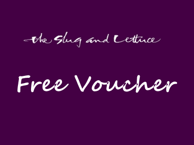 Receive A Voucher Through The Slug And Lettuce Customer Feedback Survey