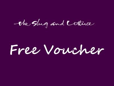 Receive A Voucher Through The Slug And Lettuce Customer Feedback Survey