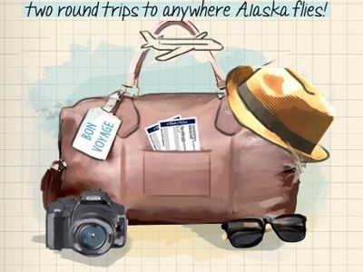 Give Your Feedback To Alaska Airlines And Win Two Round Trips To Anywhere Alaska Flies