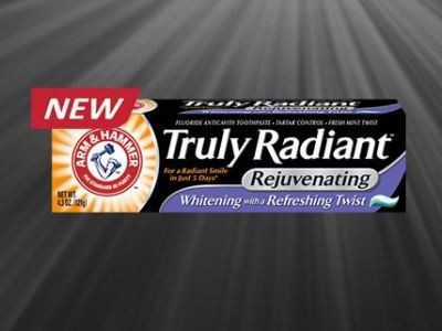 Try ARM & HAMMER Truly Radiant Rejuvenating Toothpaste For Free
