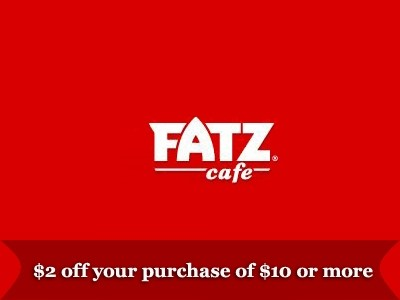 Validate Your FATZ Offer Printed On The Receipt