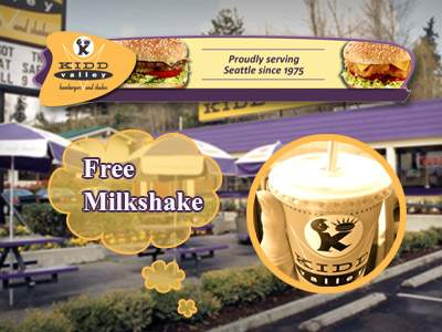 www.tellkiddvalley.com Kidd Valley Guests Can Get A Coupon For A Free Small Milkshake