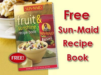 Sun Maid fruit and sun recipe book