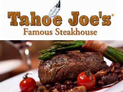 Receive A Validation Code To Redeem An Offer In The Tahoe Joe's Guest Satisfaction Survey