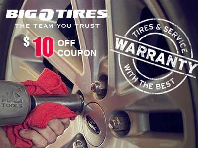 Big O Tires Offers You A $10 Off Coupon In The Guest Survey
