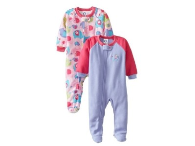 Save 30% Om Gerber Baby-Girls Infant Two-Pack Blanket Sleeper