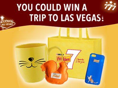 www.friskies.com/friskies7 Spin To Win An All-Inclusive Trip To Las Vegas & Receive A Free Purina Friskies 7 Sample