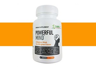 Sign Up For A Family Nutraceuticals Powerful Mind Supplement Sample