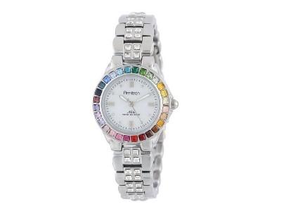 Save 44% On Armitron Multi-Color Swarovski Crystal Accented Bracelet Watch