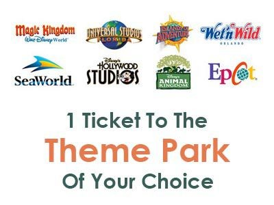 ticket to the themepark of your choice