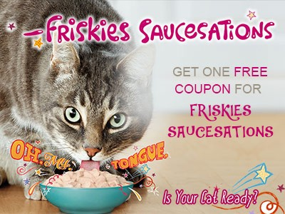 Sign Up To Get A Free Bogo Coupon For Friskies SauceSation