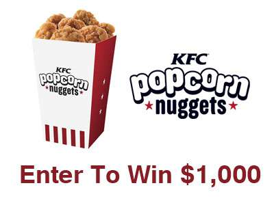usscpromotions.com/people Get Free Entries Into The People KFC Nuggets Of Wisdom Sweepstakes To Win $1,000
