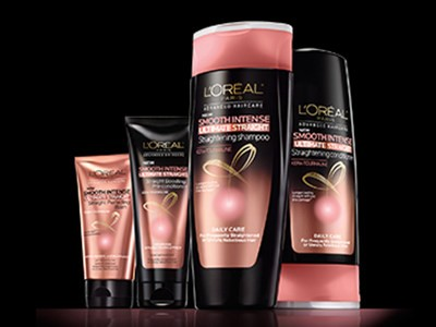 L'Oreal Advanced Haircare Ultimate Straight Hair Care