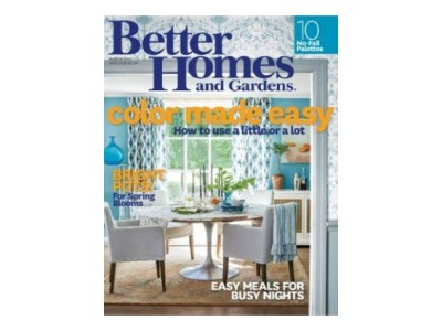 Sign Up For One Year Free Subscription To Better Homes And Gardens Magazine