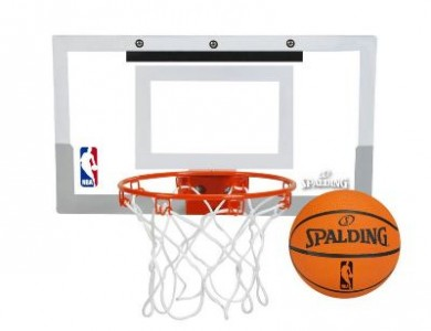Have Fun With Spalding NBA Mini Basketball Hoop And Save $14.99