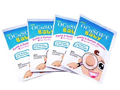 Apply For A Free Sample Of OCuSOFT Baby Eyelid And Eyelash Cleanser
