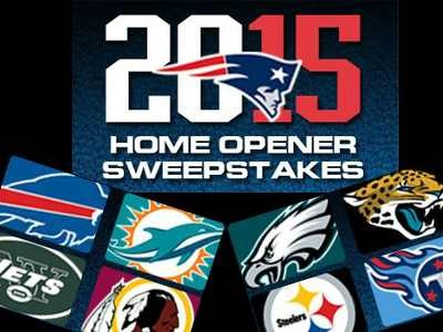 Win 2 Tickets From The New England 2015 Patriots Home Opener Pick Contest