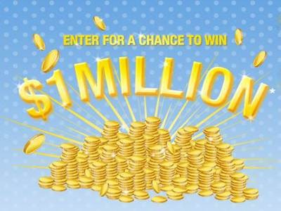 Enter One Million Dollar Giveaway And Win $1,000,000