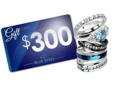 Enter Blue Steel Jewelry Win $300GC Monthly Giveaway To Win Blue Steel Gifts