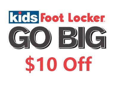 Enjoy $10 Off at Kids Foot Locker through Its Customer Survey
