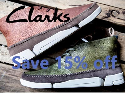 Enjoy 15 percentage off at Clarks through Clarks Customer Survey
