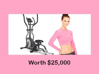 Enter Cosmopolitan $25,000 Chance For Cash Sweepstakes To Win Fitness Equipment And Apparel