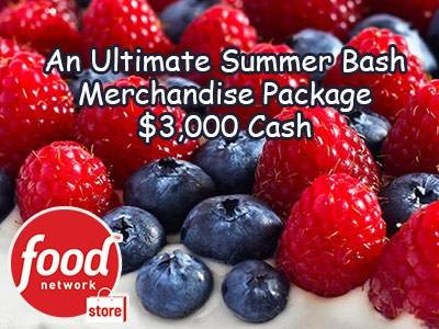Enter Food Network Store Ultimate Summer Bash Sweepstakes