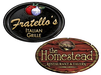 Get The Homestead And Fratello's Survey Certificate Good For $5 Off Your Next Visit