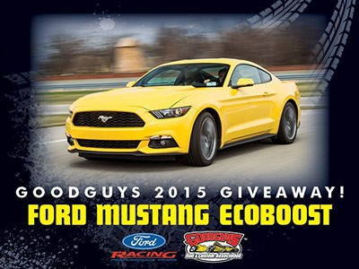 Goodguys 2015 Free Ford Mustang EcoBoost Fastback Giveaway
