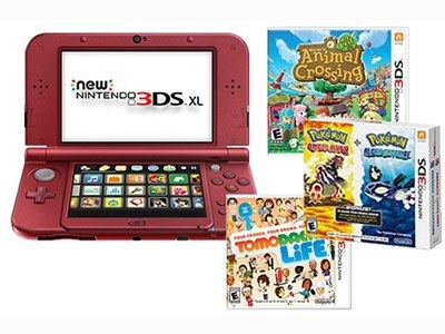 Acquire A Nintendo 3DS XL & Four New Games From Girls' World Sweepstakes