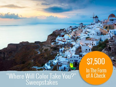 Register For This Old House $7500 Where Will Color Take You Sweepstakes