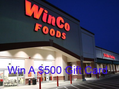 Win A $500 Gift Card In WinCo Foods Customer Survey Sweepstakes