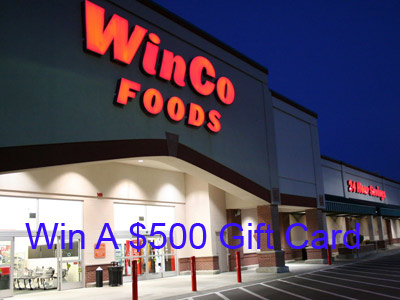 www.wincofoods.com/survey Win A $500 Gift Card In WinCo Foods Customer Survey Sweepstakes