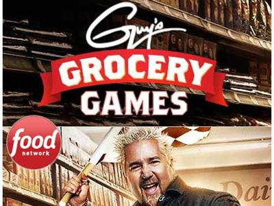 www.foodnetwork.com/grocerysweeps Win A Free Trip To The Set Of Guy's Grocery Games From Guy's Grocery Games Sweepstakes
