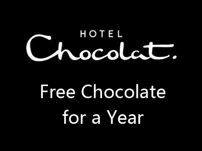 Win Free Chocolate for a Year in Hotel Chocolat Monthly Prize Draw