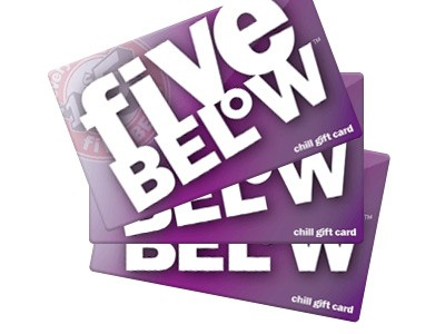 Win a $100 Five Below Gift Card in Its Survey Sweepstakes