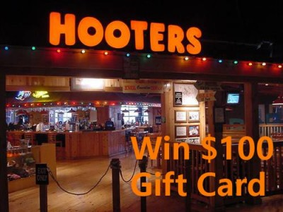 Win a $100 Gift Card in Hooters Weekly Survey Prize Draw