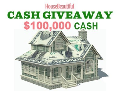 www.housebeautiful.com - Register House Beautiful To Enter $100,000 Windfall Fund Sweepstakes And Win Big Cash