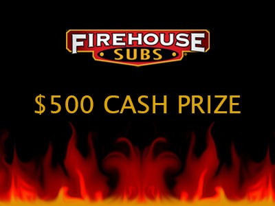 Win Home $500 Cash Through Firehouse Subs Guest Satisfaction Survey Sweepstakes