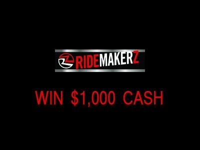 Win $1,000 Cash In Ridemakerz Customer Survey Quarterly Sweepstakes