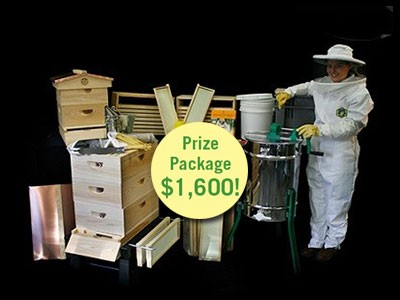 www.motherearthnews.com/brushy-mountain - Win A Ultimate Bee-Ginner's Kit And Other Prizes Worth $1628 From Mother Earth News Brushy Mountain Bee Farm Giveaway Sweepstakes
