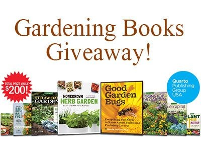 Join GRIT Gardening Books Giveaway And Get Inspiration For Your Garden