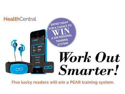 www.healthcentral.com Win A $99 Personal Training System By Participating In HealthCentral Sweepstakes