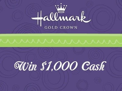 www.sharewithhallmark.com Share With Hallmark Gold Crown To Win Hallmark Customer Survey Sweepstakes $1,000 Grand Prize