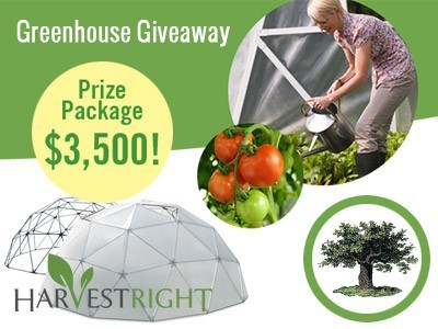 Win A Versatile Greenhouse Worth $3,500 From Mother Earth News Harvest Right Giveaway