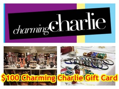 www.charmingcharlie.com/survey - Win A $100 Charming Charlie Gift Card Through Charming Charlie Survey Sweepstakes