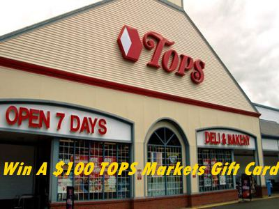 www.surveytops.com Participate In TOPS Markets Customer Satisfaction Survey Sweepstakes For A $100 TOPS Markets Gift Card